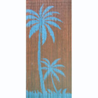 Blue Palms Door Screen