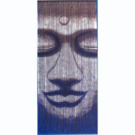 Buddha Face Door Screen