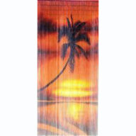 Island Sunset Door Screen