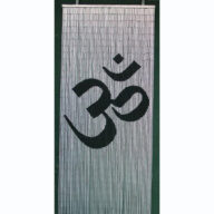 Om Spirituality Door Screen