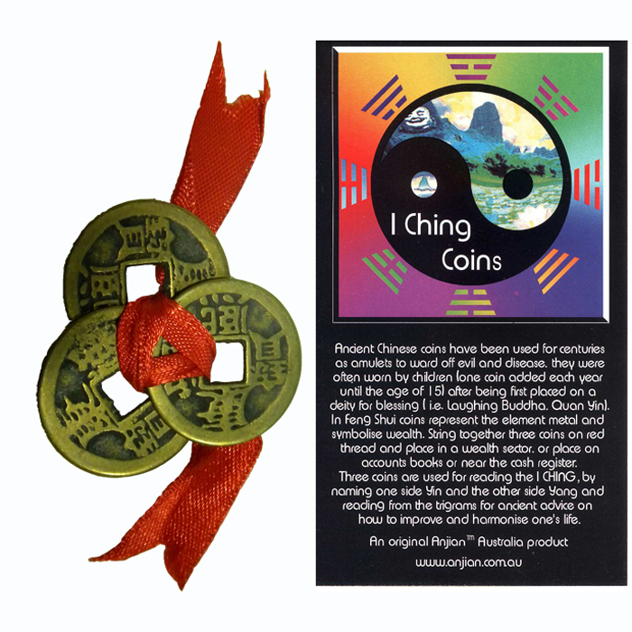 "Be the first to review ""iChing Coins"" Click here to cancel reply."