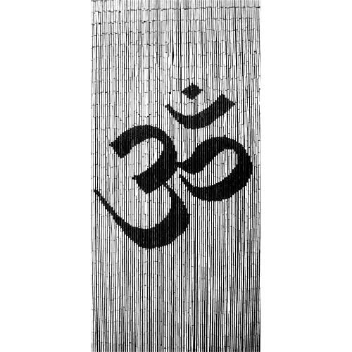om spirituality door curtain