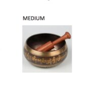 indian singing bowl medium