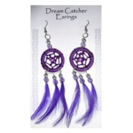 Dreamcatcher Earrings. Buy in store or online from The New Age Markets