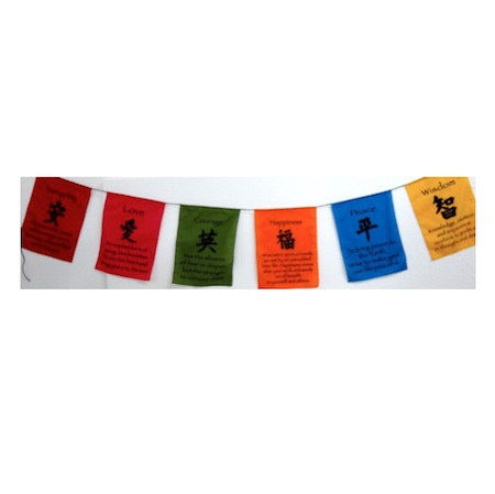 Colourful Symbol Prayer Flags Buy Online From New Age Markets