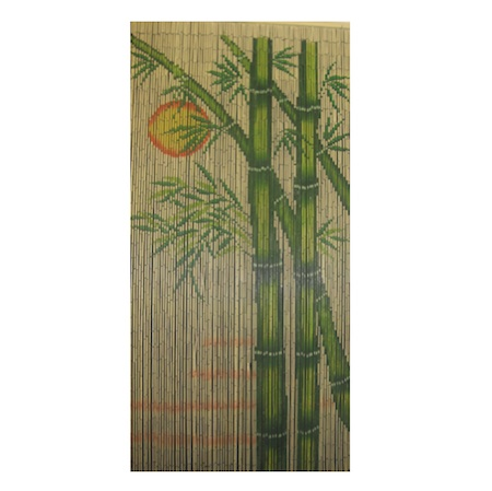 bamboo sun door curtain