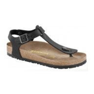 Birkenstock Black Kairo Leather Sandal