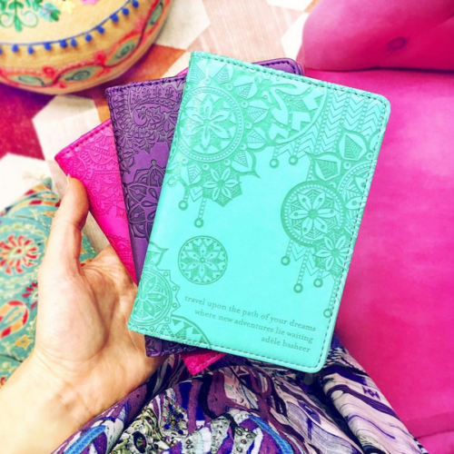 Passport Wallets Tahitian Turquoise