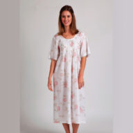 Arabella Pure Cotton Nightie MD-83 Floral